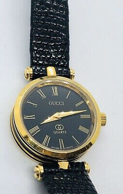 Vintage Authentic Gucci Ladies 2000L Quartz 1980's Watch
