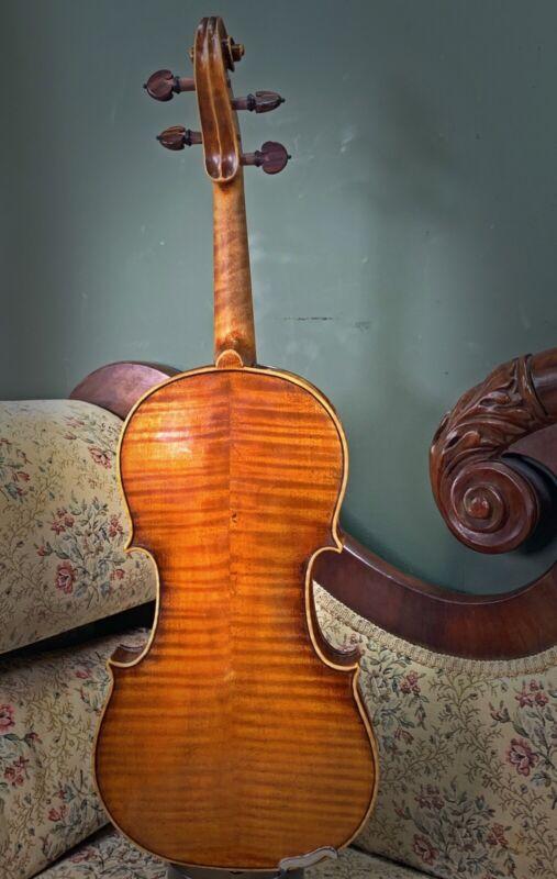Stunning old Antique Violin- labeled! Wonderful tone!