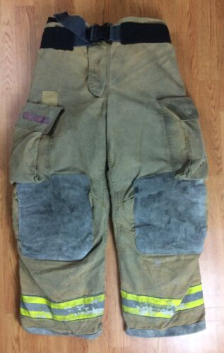 Globe Gxtreme Firefighter Bunker Turnout Pants 36 x 30  2008