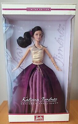 2002 Limited Edition Barbie Doll by Katiana Jimenez Designer Spotlight NRFB