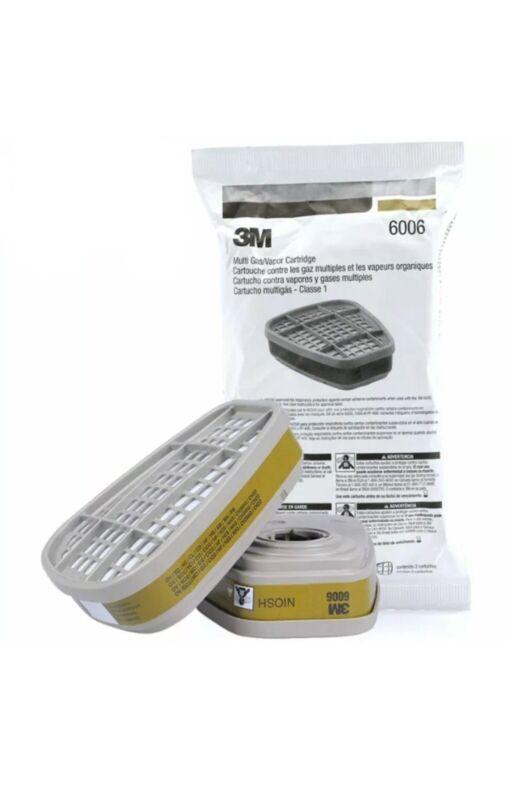 3M 6006 Multi Gas/Vapor Cartridge - *Pair* Filters For Respirator Bulk Lot Sale