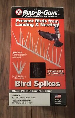 Bird B Gone Enviro Spike 10 ft. x 5 in. Plastic Bird Spikes