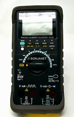 Extech Cmm-15 Multimeter And Process Calibrator Plus Rs232 With Gray Holster