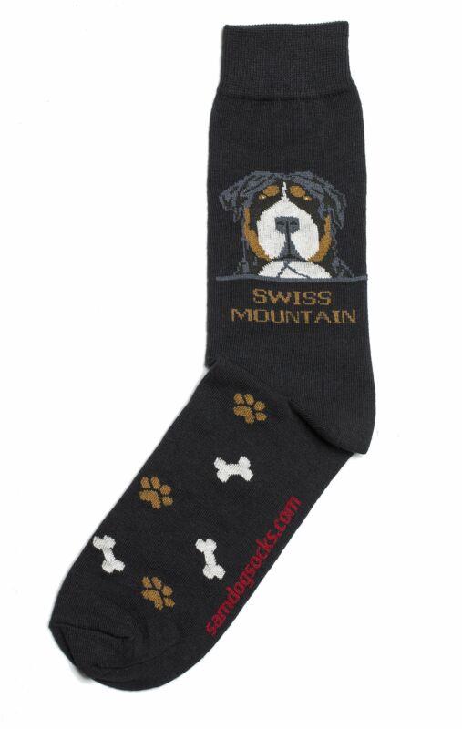 Swiss mountain Dog Socks Mens