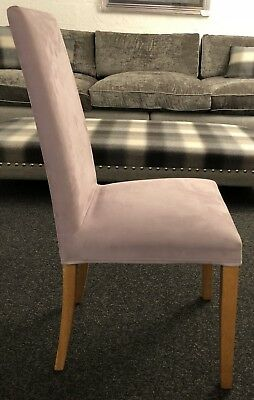 Set of 2 Dining Chairs - Contract standard. Loose covered, used for sale  Nottingham