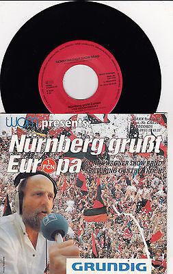 """Conny Wagner Show Band  Günther Koch  Nürnberg grüßt Europa  7 """" FCN Single"""