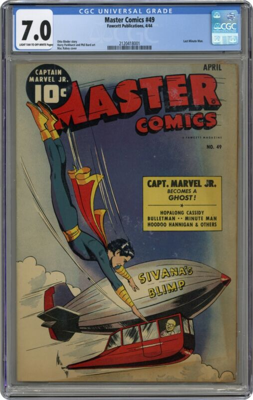 Master Comics #49 CGC 7.0 1944 2120418001
