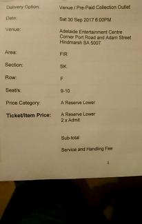 Dan Tdm tickets for sale.