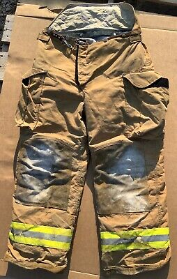 Lion Turnout Bunker Pants Fire Fighting Firefighter Gear 34r