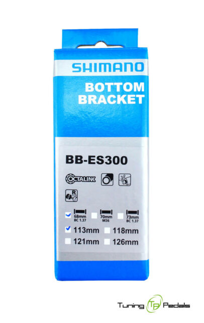 Shimano Octalink Innenlager BB-ES300 BSA 68 - 113 / 118 / 121 - 126 mm