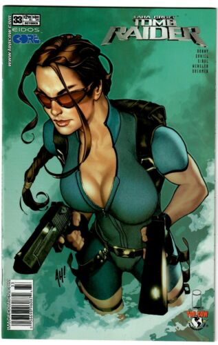 TOMB RAIDER #33 ADAM HUGHES VARIANT COVER 2003 IMAGE TOP COW NM COMIC BOOK 1