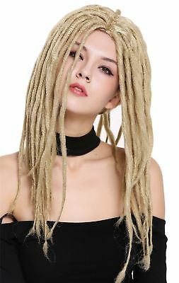 Perücke Damen Herren Karneval Dreadlocks Rasta Reggae Rastafari - Blonde Herren Perücke