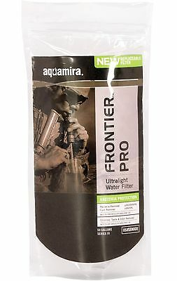 Aquamira Frontier Military Pro 50gal - Green Line Bacteria Survival Water Filter