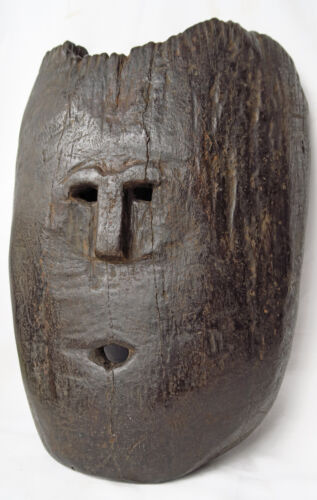 TIMOR TRIBAL ROSEWOOD MASK mid to late 20th C INDONESIA
