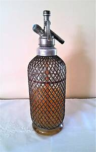 Vintage Soda Water Syphon Wire Mesh Golden Grove Tea Tree Gully Area Preview
