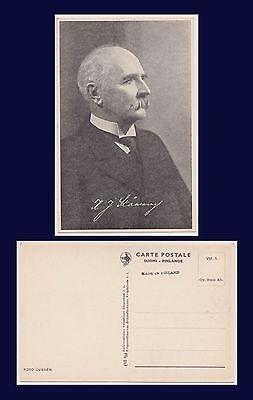SUOMI FINLAND KAARLO JUHO STÅHLBERG FIRST FINNISH PRESIDENT 1919 TO 1925
