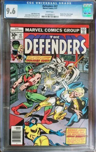 Defenders 47 CGC 9.6 Moon Knight Hulk Marvel 1977