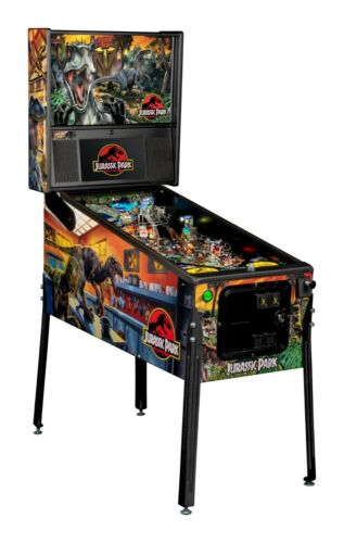 NEW Jurassic Park PREMIUM Edition Pinball Machine  Free Shipping Ships October