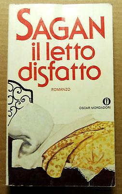 1979= IL LETTO DISFATTO = FRANCOISE SAGAN..Romanzo - Avventura Lieto Fine...ETNA