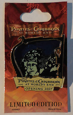 Disney Pin Pirates of the Caribbean At World's End Countdown #5 Boot Strap Bill  (Pirates Of The Caribbean Boots)