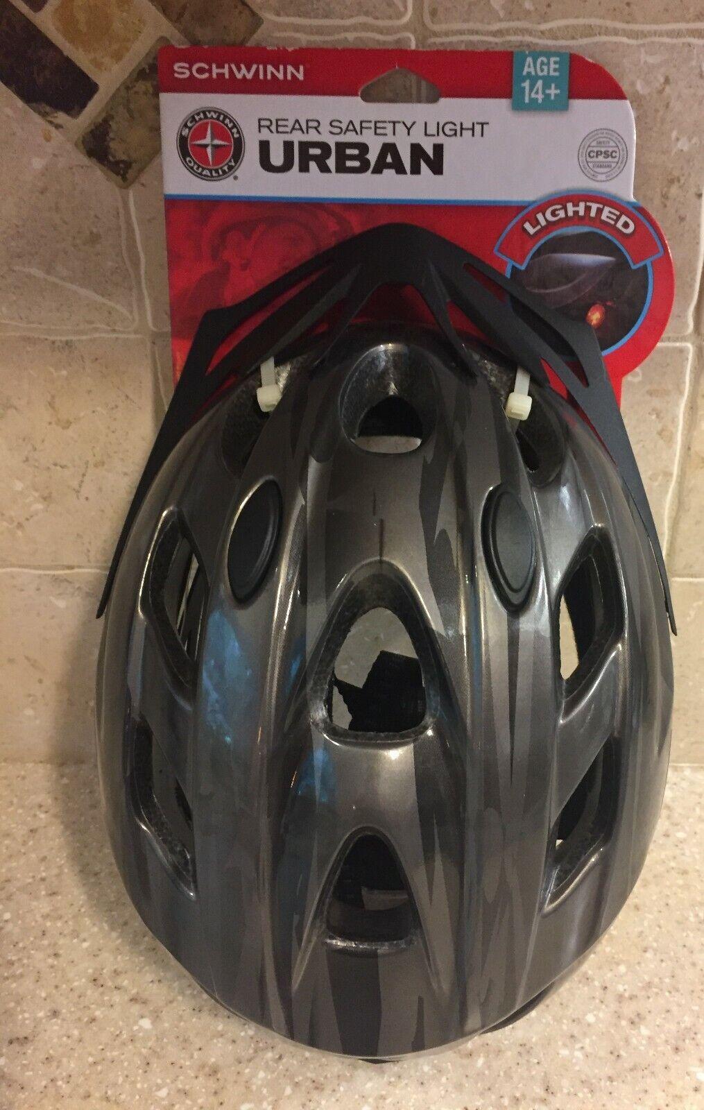 SCHWINN Urban Adult Bike Helmet 14+ Yrs NO LIGHT 2014