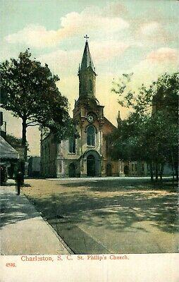 CHARLESTON, SC South Carolina   ST PHILIP'S CHURCH    c1910's PCK (Church St Charleston Sc)