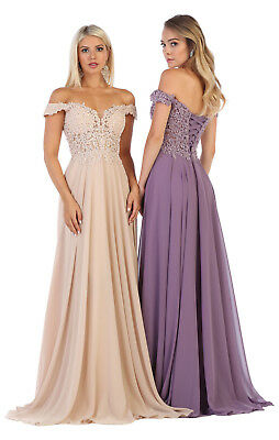 BEAUTY PAGEANT EVENING FORMAL GOWN W / CORSET PROM QUEEN PARTY DRESSES SWEET - Corset Prom Gown