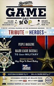 TRIBUTE-FOR-HEROES-ON-COVER-MILWAUKEE-BREWERS-2013-GAMEDAY-PROGRAM-ISSUE-5