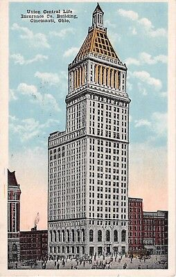 Ohio Postcard Cincinnati Union Central Life Insurance Co  Building
