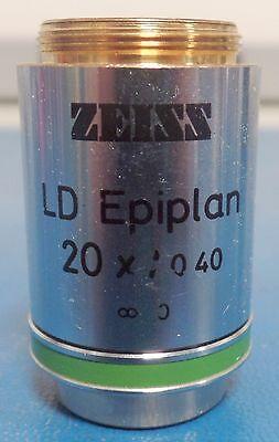 Zeiss Ld Epiplan 44 28 40 20x0.40 Microscope Objective Lens