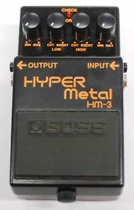 Boss Hyper Metal 3 Effects Pedal Nerang Gold Coast West Preview