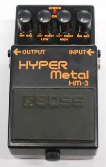 Boss Hyper Metal 3 Effects Pedal Nerang Gold Coast West Preview