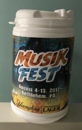 Musikfest Collectors 2017 Beer Mug from Bethlehem, PA.
