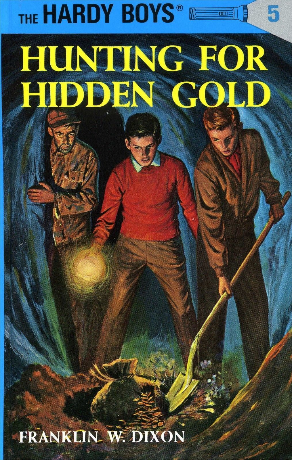 BOOK - THE HARDY BOYS - THE HOODED HAWK MYSTERY - NO. 34 - CR 1954