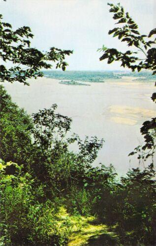 NE Cedar Bluffs CAMP CEDARS Platte River Boy Scouts of America 1966 postcard B6