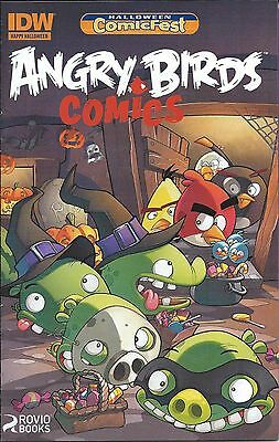 ANGRY BIRDS 1 IDW HALLOWEEN COMICFEST HCF 2014 RARE MINI GIVEAWAY PROMO ASHCAN](Halloween Comics Angry Birds)