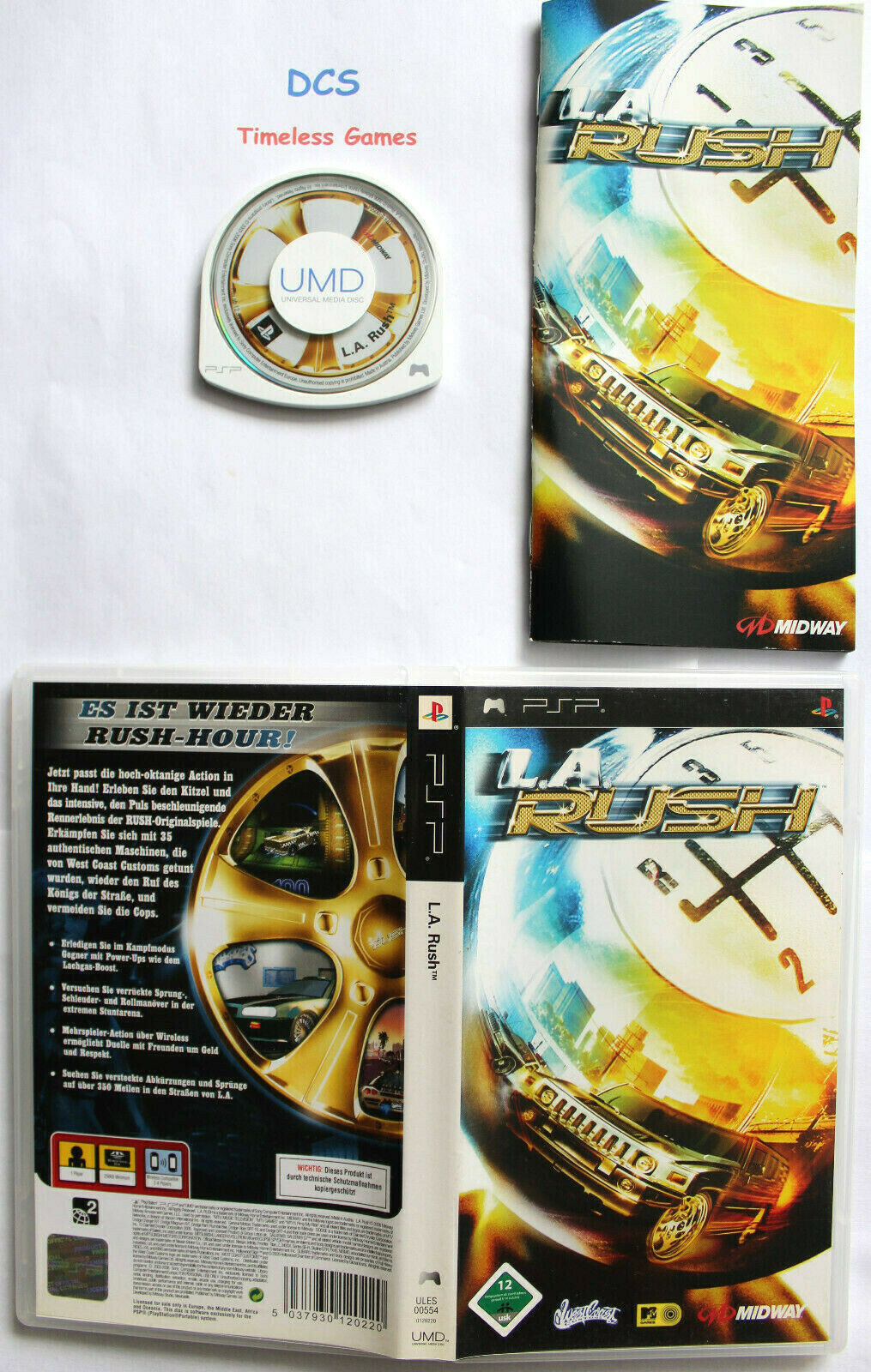 L.A. Rush Rennspiel für Sony Playstation Portable PSP