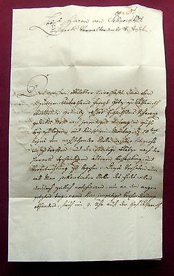 1786 LAABER  Freiherr FRANZ von BRENTANO - Brief mit eigh. U.