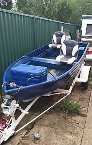 12ft tinny, 15hp 3 Year Old Yamaha Motor + Trailer Blacktown Blacktown Area Preview