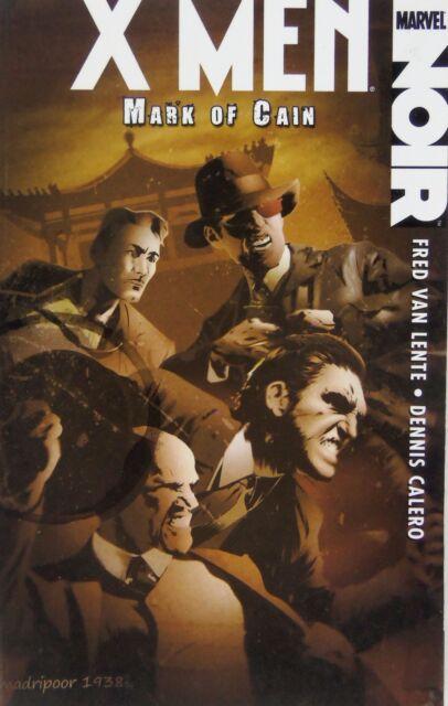X-men Noir: Mark of Cain by Fred Van Lente (Paperback) 2009