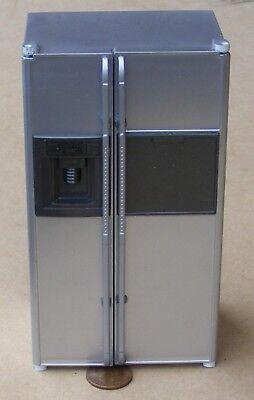 1:12 Maßstab Leerer Speisekammer Stil Silber Kühlschrank Gefrierschrank Tumdee ()
