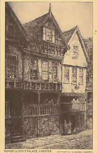 Bishop Lloyd's Palace, CHESTER, Cheshire