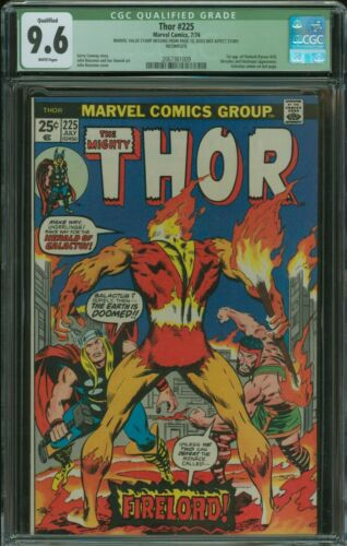 Thor #225 CGC 9.6 Qualified 1st appearance of Firelord, Galactus Cameo