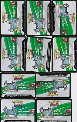 ~Pokemon Trading Card Game 10 Online Booster Pack Code x 10 XY - Pokemon Card Game Online