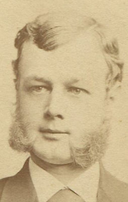 MAN WITH MUTTON CHOP SIDEBURNS. CDV BY FREDRICKS, N.Y. - Mutton Chop Sideburns