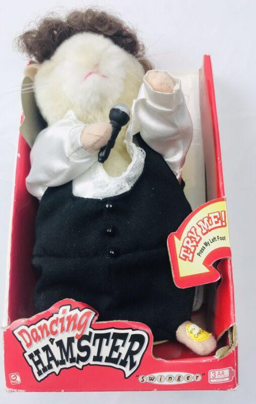"Dancing Singing Hamster Tom Jones Crooner ""It"