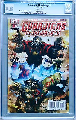 Guardians Of The Galaxy  1  Marvel 2008  Cgc 9 8 Nm Mt 1St App Gotg Movie  White