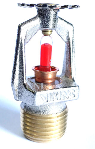 """155*F 1/2"""" NPT Micromatic Chrome Pendent Sprinkler (K5.6) VIKING VK102"""