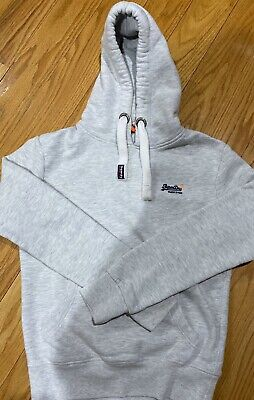 Superdry Orange Label Hoodie Small (Excellent Condition)