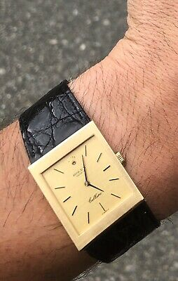 Rolex Cellini 4027 18k Gold With Papers Rare